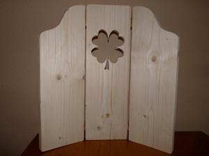 Steigerhout kado for Raamdecoratie hout